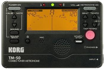 Korg TM-50 (schwarz)
