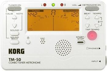Korg TM-50 (weiß)