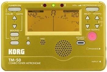 Korg TM-50 (gold)