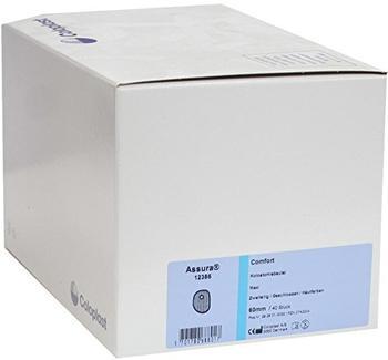 Coloplast Assura Comfort 2-tlg. Kolostomie Beutel 60 mm 12386 maxi haut (40 Stk.)