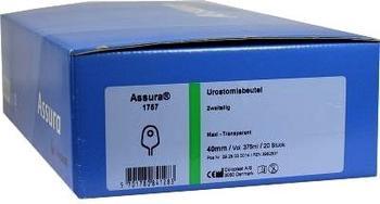 Coloplast Assura URO Urostomie Beutel 40 mm 1757 maxi transparent (20 Stk.)