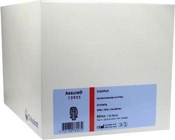 Coloplast Assura Comfort 2-tlg. Ausstreif Beutel 50 mm 13955 midi haut (40 Stk.)