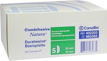 ConvaTec Combihesive Natura Konvex Basen 22/45 mm 965265 (5 Stk.)