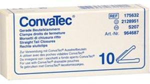ConvaTec Combihesive Beutelklammern 964687 (10 Stk.)