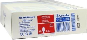 ConvaTec Combihesive Natura Ausstreif Beutel 57 mm 967764 Transparent (10 Stk.)