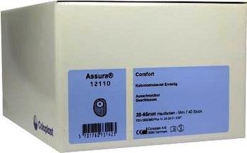 Coloplast Assura Comfort 1-tlg. Geschlossen Beutel 12110 Mini Haut (40 Stk.)