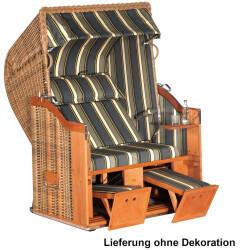 SonnenPartner Classic 2-Sitzer Halbliegemodell marone/anthrazit mit Sonderausstattung
