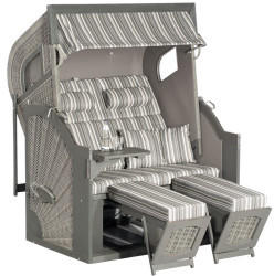 SunnySmart Rustikal 405 Comfort Z Comfort XL stone grey weiß