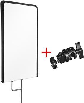 Walimex pro 4in1 Reflektorpanel 75x90cm + Klemme