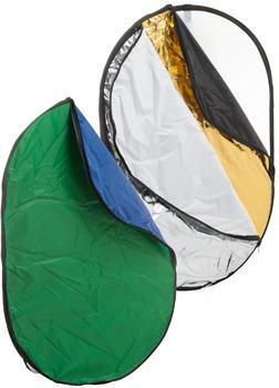 Bresser BR-TR2 7 in 1 Faltdiffusor Faltreflektor Falthintergrund 100x150cm