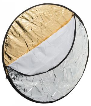 Bresser BR-TR2 7in1 Faltdiffusor Faltreflektor Falthintergrund 80cm rund