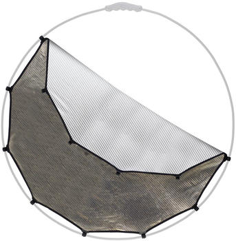 Lastolite HaloCompact Difflektor 82cm Sunlite/Soft Silver ohne Rahmen