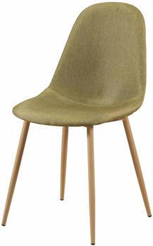 SIT SIT&CHAIRS Stuhl 2er-Set 2498 grün/hellbraun