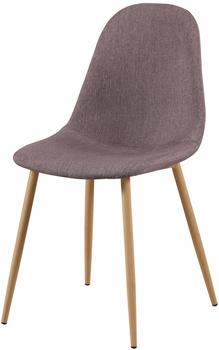 SIT SIT&CHAIRS Stuhl 2er-Set 2498 mauve/hellbraun