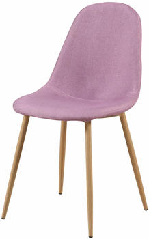 SIT SIT&CHAIRS Stuhl 2er-Set 2498 pink/hellbraun