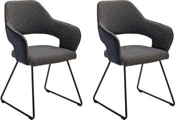MCA Furniture Newcastle 2er NEKA81CH charcoal