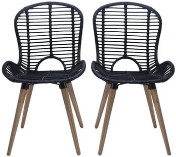 vidaxl-dining-chairs-in-black-rattan-4-pieces