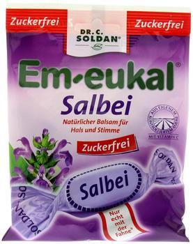Soldan Em-eukal Salbei zuckerfrei Bonbons (75 g)