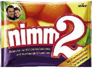Nimm 2 Fruchtbonbons (145 g)