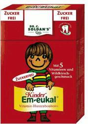 Soldan Kinder Em-eukal Minis Pocketbox Wildkirsche zuckerfrei (40 g)