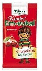 Soldan Kinder Em-eukal Wildkirsche zuckerhaltig Bonbons (75 g)