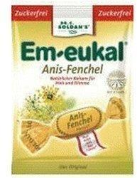 Soldan Em-eukal Anis-Fenchel zuckerfrei Bonbons (75 g)