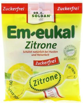 Soldan Em-Eukal Bonbons Zitrone zuckerfrei (75 g)