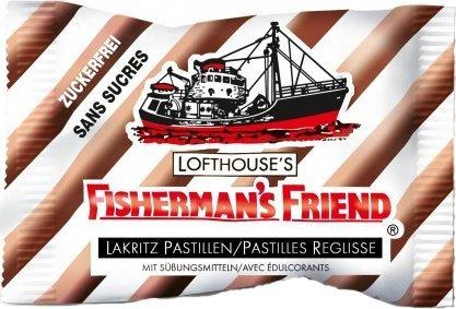 Fisherman's Friend Lakritz ohne Zucker (25 g)