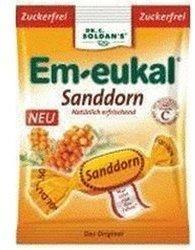 Soldan Em-eukal Sanddorn zuckerfrei Bonbons (75 g)