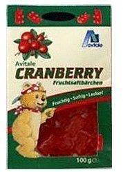 Avitale Cranberry Fruchtsaftbaerchen (100 g)