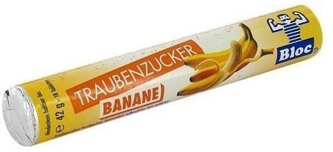 Dr. A. & L. Schmidgall Bloc Traubenzucker Banane Rolle (1 Stk.)
