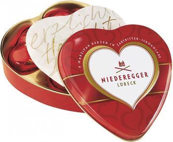 Niederegger Marzipan-Herzen Dose (75 g)