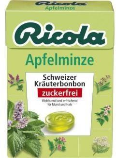 ricola-apfelminze-zuckerfrei-box-50-g