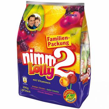 Nimm 2 Lolly Beutel (200g)