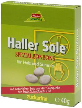 Provita Haller Sole Spezialbonbons zuckerfrei (40g)