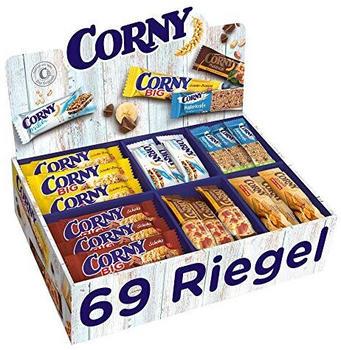 Corny Sortimentskarton 69 Müsliriegel (2,92kg)