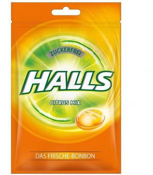Halls Citrus Mix - 3 Sorten & zuckerfrei (65g)