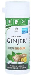 Lemon Pharma Ingwer Ginjer Kaugummi Minze (30g)