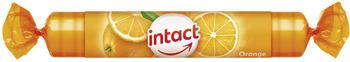 Intact Traubenzucker Orange Rolle (40 g)