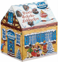 Wicklein Bunte Schoko-Lebkuchen Winterhäuschen (200g)