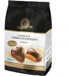 Lambertz Gefüllte Lebkuchenherzen Zartbitter (150g)