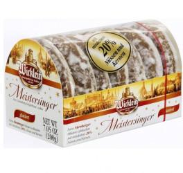 Wicklein Feine Nürnberger Meistersinger Oblaten-Lebkuchen glasiert (200g)