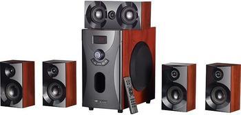 Auvisio Home-Theater Surround-Sound-System 5.1 160 Watt Holzoptik
