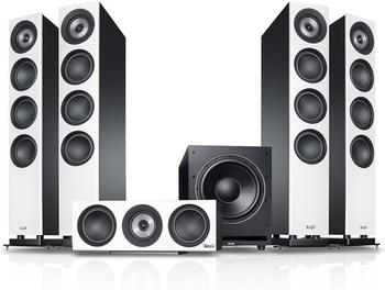 Teufel Definion 3 Surround Power Edition 5.1-Set weiß