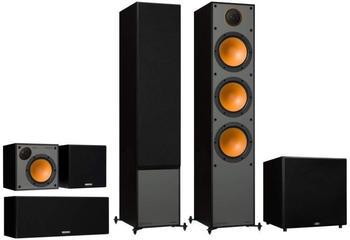 Monitor Audio Monitor Serie 5.1 Heimkino Set schwarz