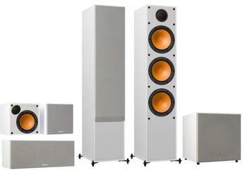 Monitor Audio Monitor Serie 5.1 Heimkino Set weiß