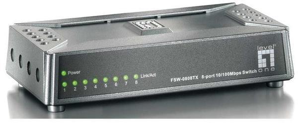 Level One 8-Port Fast Ethernet Switch (FSW-0808TX)