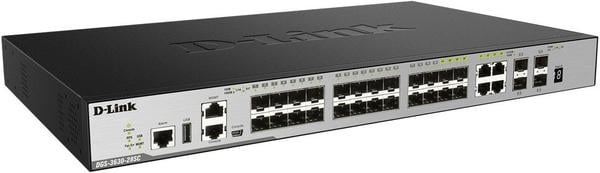 D-Link 28-Port Gigabit Switch (DGS-3630-28SC)