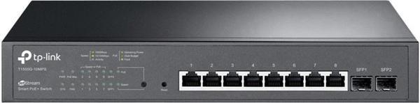 TP-Link 8-Port Gigabit PoE+ Switch (T1500G-10MPS)