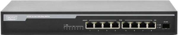 Digitus 8-Port Gigabit PoE Switch (DN-95341)